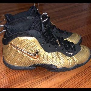 Nike Gold Foamposites
